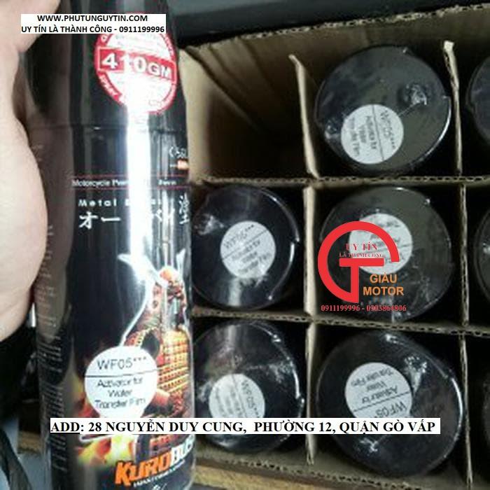 WF05 _ Chai hoạt hóa xịt sơn xe máy Samurai WF05*** _ Chất chuyển hóa phim chuyền nước _ Water Film Activator 11