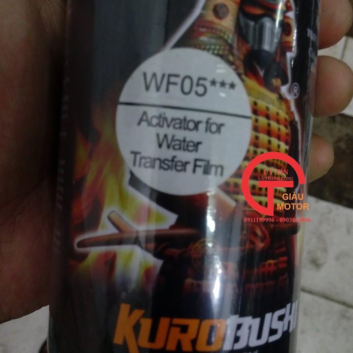 WF05 _ Chai hoạt hóa xịt sơn xe máy Samurai WF05*** _ Chất chuyển hóa phim chuyền nước _ Water Film Activator 6