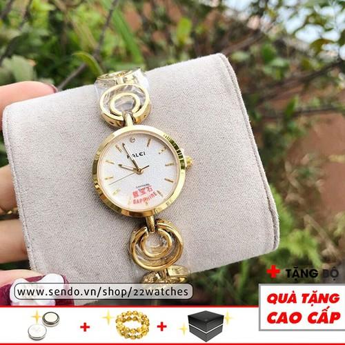 Đồng hồ nữ HALEI lắc tay HLE09 sang chảnh dịu dàng cho bạn gái