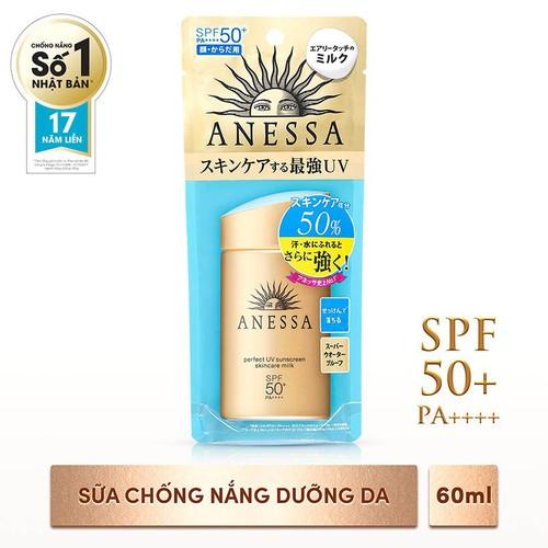 Sữa Chống Nắng Bảo Vệ Hoàn Hảo Anessa Perfect UV Sunscreen Skincare Milk 60ml - 4886036 , 17512692 , 15_17512692 , 160000 , Sua-Chong-Nang-Bao-Ve-Hoan-Hao-Anessa-Perfect-UV-Sunscreen-Skincare-Milk-60ml-15_17512692 , sendo.vn , Sữa Chống Nắng Bảo Vệ Hoàn Hảo Anessa Perfect UV Sunscreen Skincare Milk 60ml