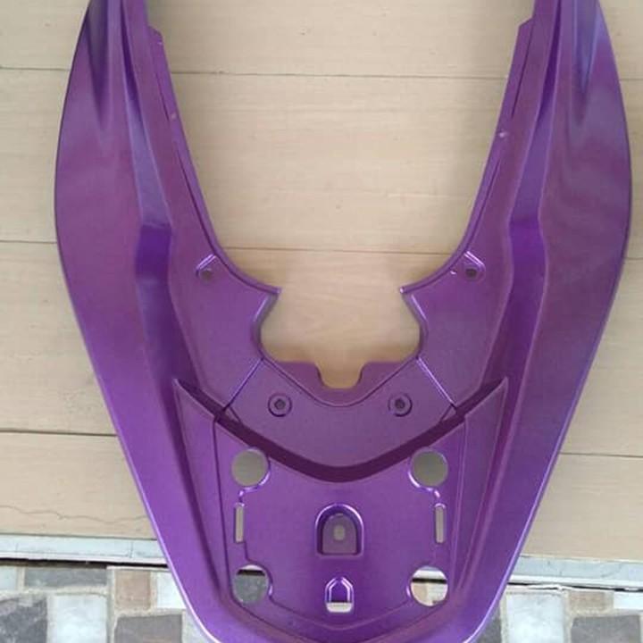 1142 _ Chai sơn xịt sơn xe máy Samurai 1142 màu tím đậm _SUPER VIOLET, màu siêu bền đẹp, giá rẻ 10