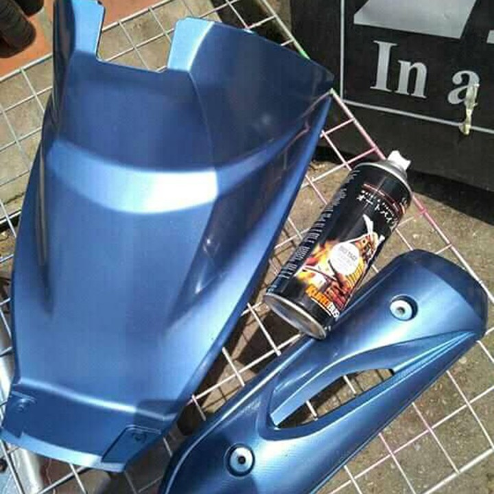 1147 _ Chai sơn xịt sơn xe máy Samurai 1147 màu xanh nước biển_ Ocean Blue samurai _ shop uy tín, giao nhanh 2