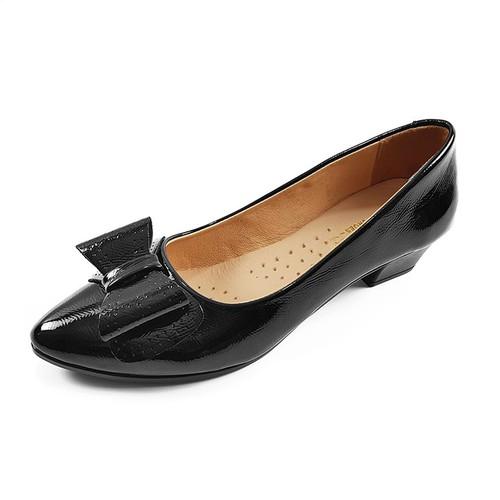 Giày Cao Gót Nữ Đế Vuông 3cm Da Pu Cao Cấp Đẹp Mê Hồn 3P20TB