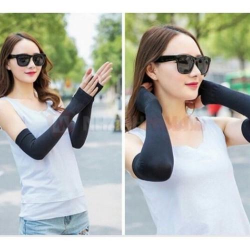 Găng tay chống nắng uv aqua x đen