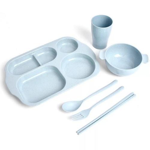 Khay cơm ăn dặm 5 món cho bé - Hộp đựng cơm cho bé 0973809698