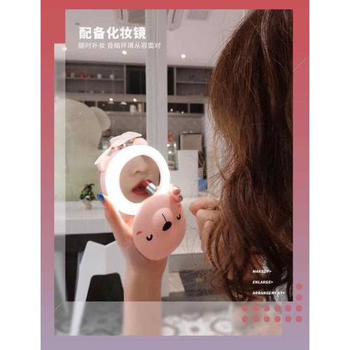 Gương soi kèm đèn led với quạt - 7675306 , 17501821 , 15_17501821 , 99000 , Guong-soi-kem-den-led-voi-quat-15_17501821 , sendo.vn , Gương soi kèm đèn led với quạt