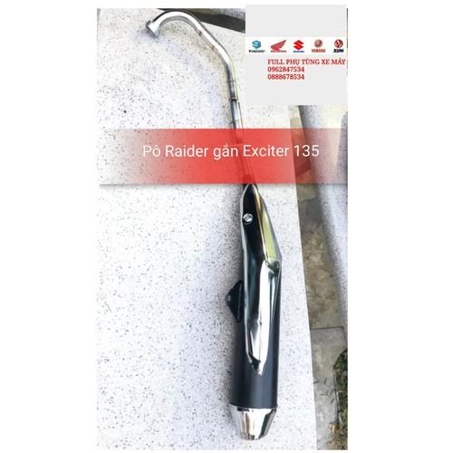 Pô Raider Fi gắn Exciter 135 như zin - 7676477 , 17515358 , 15_17515358 , 532000 , Po-Raider-Fi-gan-Exciter-135-nhu-zin-15_17515358 , sendo.vn , Pô Raider Fi gắn Exciter 135 như zin