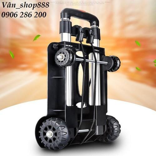 Xe đẩy hàng 4 bánh xếp gọn- Xe đẩy mini đa năng, tiện ích - 11550803 , 17514775 , 15_17514775 , 749000 , Xe-day-hang-4-banh-xep-gon-Xe-day-mini-da-nang-tien-ich-15_17514775 , sendo.vn , Xe đẩy hàng 4 bánh xếp gọn- Xe đẩy mini đa năng, tiện ích