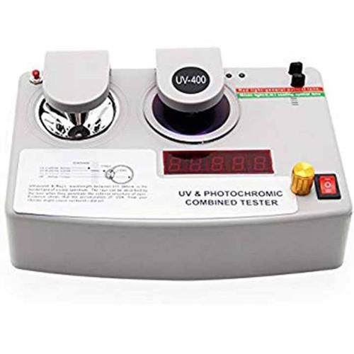Máy đo UV & Thử đổi màu tròng kính