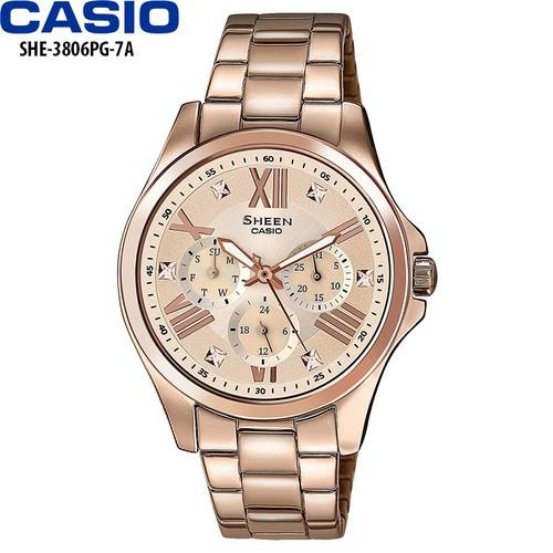 Đồng hồ CASIO nữ chính hãng - 7568112 , 17513746 , 15_17513746 , 4646000 , Dong-ho-CASIO-nu-chinh-hang-15_17513746 , sendo.vn , Đồng hồ CASIO nữ chính hãng