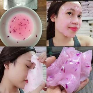 500g bột Collagen hoa hồng dưỡng trắng da - 041 thumbnail