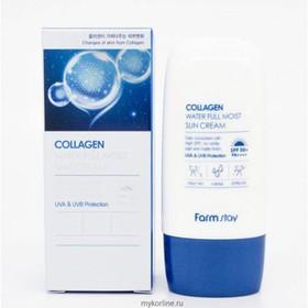 chống nắng farm stay collagen water full moist - cnfarmstaycollagen