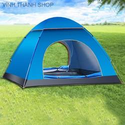 Lều Cắm Trại Tự Bung Lều Chống Tia Tử Ngoại Dành Cho 4-6 Người