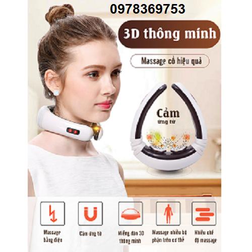 Máy massage cổ cao cấp CẢM ỨNG TỪ