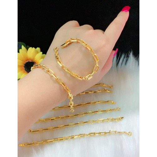 lắc tay nữ dát vàng 18k mã 017B - 7568866 , 17515508 , 15_17515508 , 239000 , lac-tay-nu-dat-vang-18k-ma-017B-15_17515508 , sendo.vn , lắc tay nữ dát vàng 18k mã 017B