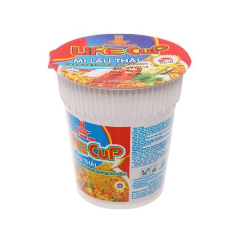 Thùng 24 ly mì Vị Hương Life Cup 60g