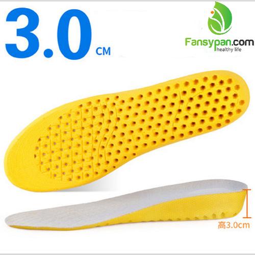 Lót giày khử mùi chân lót giày chống hôi chân lót giày tăng chiều cao