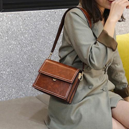 Túi da đeo chéo nữ phong cách  trẻ trung N060