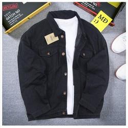 Áo Khoác jean Unisex a264 HÌNH THẬT vải dày muidoi|áo khoác nam đẹp