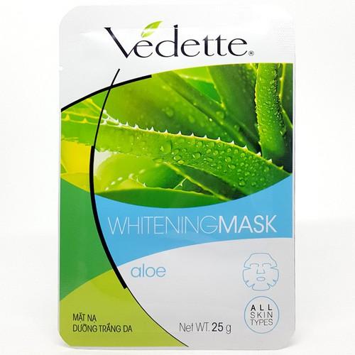 Mặt nạ giấy Vedette nha đam gói 25g