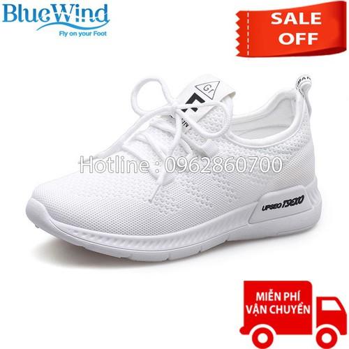 Giày thể thao nữ Upseo Tsexo 68121 TRẮNG - Giày sneaker nữ Bluewind
