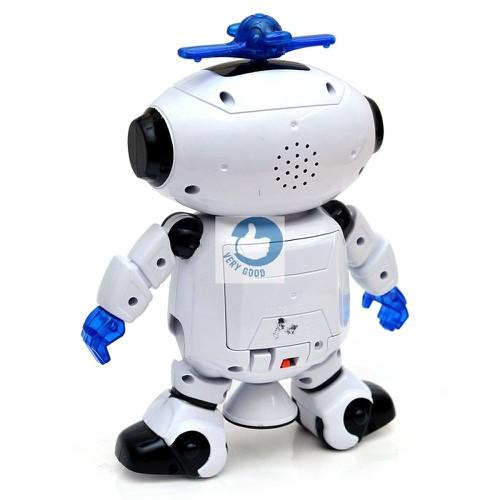 Robot thông minh xoay 360 cảm biến vật cản
