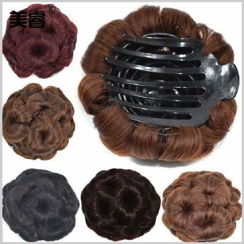Kẹp búi tóc giả hoa trà - 11548381 , 17507086 , 15_17507086 , 105000 , Kep-bui-toc-gia-hoa-tra-15_17507086 , sendo.vn , Kẹp búi tóc giả hoa trà