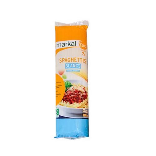 Mì spaghetti trắng hữu cơ Markal 500g