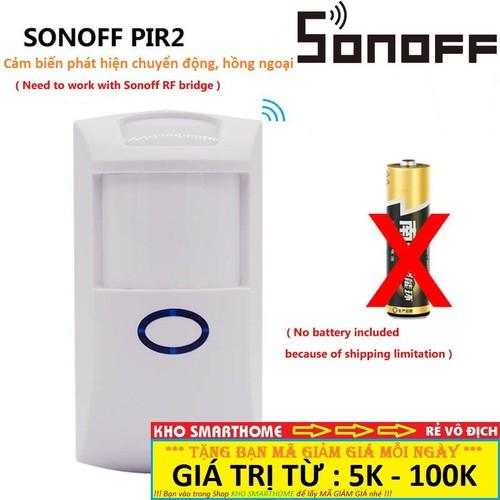Thiết bị SONOFF PIR2, cảm biến phát hiện chuyển động, hồng ngoại - dùng kết hợp với Sonoff RF Bridge - 4690494 , 17502898 , 15_17502898 , 188000 , Thiet-bi-SONOFF-PIR2-cam-bien-phat-hien-chuyen-dong-hong-ngoai-dung-ket-hop-voi-Sonoff-RF-Bridge-15_17502898 , sendo.vn , Thiết bị SONOFF PIR2, cảm biến phát hiện chuyển động, hồng ngoại - dùng kết hợp với Sonof