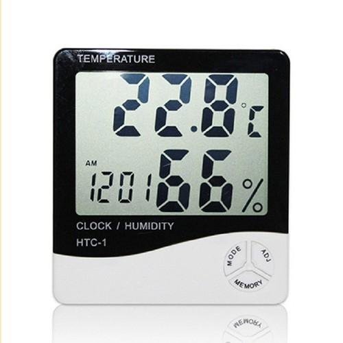 Combo 2 máy đo nhiệt độ, độ ẩm, không khí trong phòng