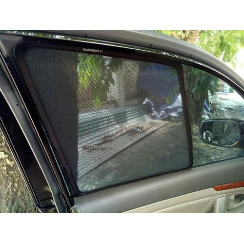 rèm che nắng kính sườn xe Camry 2007-2011 màu đen mẫu camry 2008