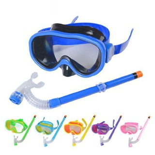 Kính bơi lặn Snorkel cho bé có ống thở