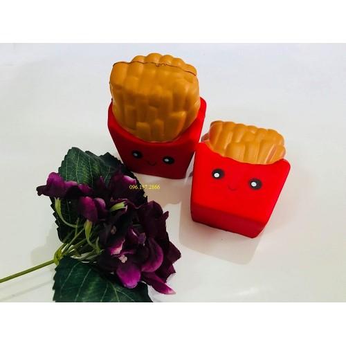 Squishy khoai tây màu đỏ siêu đẹp