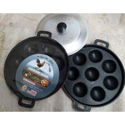 Khuôn làm bánh khọt 8 lỗ chống dính - 7571038 , 17521855 , 15_17521855 , 90000 , Khuon-lam-banh-khot-8-lo-chong-dinh-15_17521855 , sendo.vn , Khuôn làm bánh khọt 8 lỗ chống dính