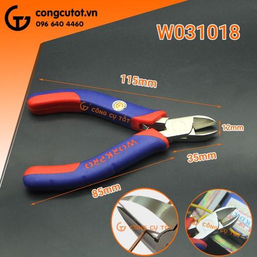 Kìm cắt dây điện Workpro-W031018