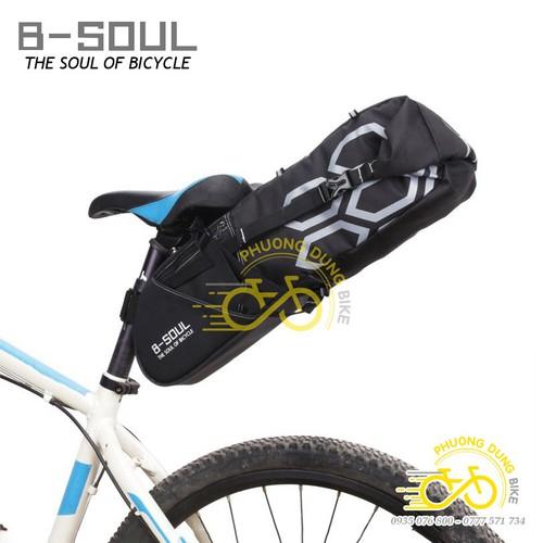 Túi treo yên sau xe đạp B-Soul chứa 12L có chống nước - 7920592 , 17539923 , 15_17539923 , 300000 , Tui-treo-yen-sau-xe-dap-B-Soul-chua-12L-co-chong-nuoc-15_17539923 , sendo.vn , Túi treo yên sau xe đạp B-Soul chứa 12L có chống nước