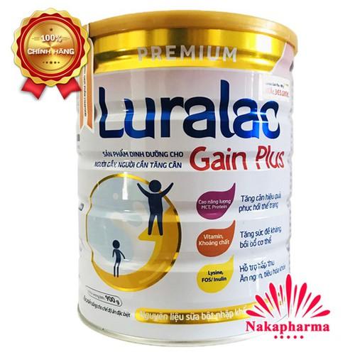 ✅ [CHÍNH HÃNG] Sữa tăng cân Luralac Gain Plus 900g – Dinh dưỡng cho người gầy, cần tăng cân, người chơi thể thao - 7571968 , 17528175 , 15_17528175 , 365000 , -CHINH-HANG-Sua-tang-can-Luralac-Gain-Plus-900g-Dinh-duong-cho-nguoi-gay-can-tang-can-nguoi-choi-the-thao-15_17528175 , sendo.vn , ✅ [CHÍNH HÃNG] Sữa tăng cân Luralac Gain Plus 900g – Dinh dưỡng cho người g
