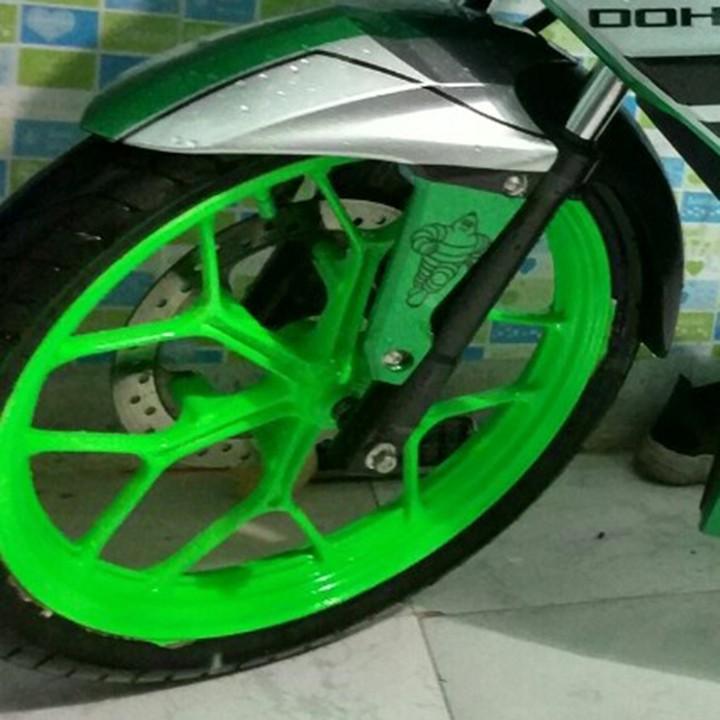 54 _ Sơn xit Samurai 54** màu xanh lá huỳnh quang  _ Fluorescent Green   sơn mâm xe máy và nhựa_ Tốt, giá rẻ, ship nhanh 7