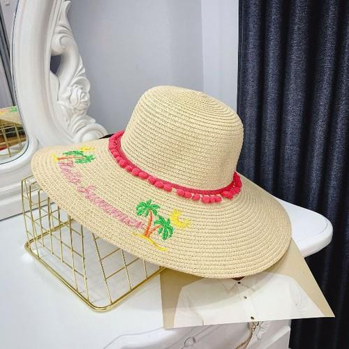 Mũ vành du lịch mùa hè sành điệu