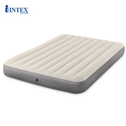 Đệm hơi đôi 1m52 công nghệ mới INTEX 64103 - Kèm bơm điện, gối hơi - Đệm hơi, nệm hơi, giường hơi