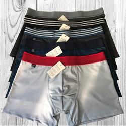Bộ 5 quần lót boxer quần sịp đùi cotton co giản 4 chiều đẹp giá rẻ