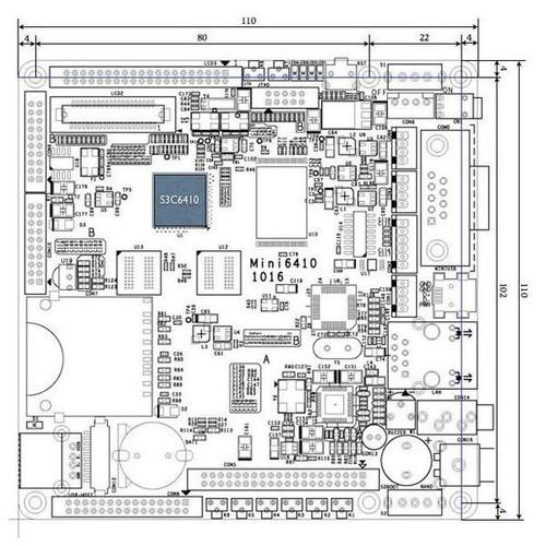 MINI6410 S3C6410 ARM11 BOARD - 7914991 , 17530069 , 15_17530069 , 3100000 , MINI6410-S3C6410-ARM11-BOARD-15_17530069 , sendo.vn , MINI6410 S3C6410 ARM11 BOARD