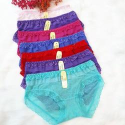 Lố 10 quần lót nữ, quần chip, đồ lót định hình - HÀNG CAO CẤP- MUA 10 TẶNG 1