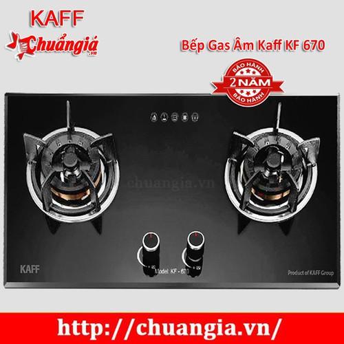 Bếp Gas Âm Kaff KF 670