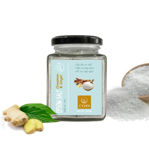 Epsom Salt Cinnamon & Ginger - Muối Epsom Ướp Tinh Dầu Quế Gừng - 7916579 , 17532870 , 15_17532870 , 225000 , Epsom-Salt-Cinnamon-Ginger-Muoi-Epsom-Uop-Tinh-Dau-Que-Gung-15_17532870 , sendo.vn , Epsom Salt Cinnamon & Ginger - Muối Epsom Ướp Tinh Dầu Quế Gừng
