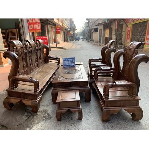 Bộ bàn ghế tần thủy hoàng gỗ mun đuôi công Cột 14 - 11558514 , 17549835 , 15_17549835 , 51000000 , Bo-ban-ghe-tan-thuy-hoang-go-mun-duoi-cong-Cot-14-15_17549835 , sendo.vn , Bộ bàn ghế tần thủy hoàng gỗ mun đuôi công Cột 14