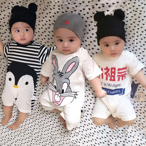 Body đùi cho bé Cotton Quảng Châu Loại 1 Cho Bé Hàng Xuất Nhật - Được Chọn Mẫu