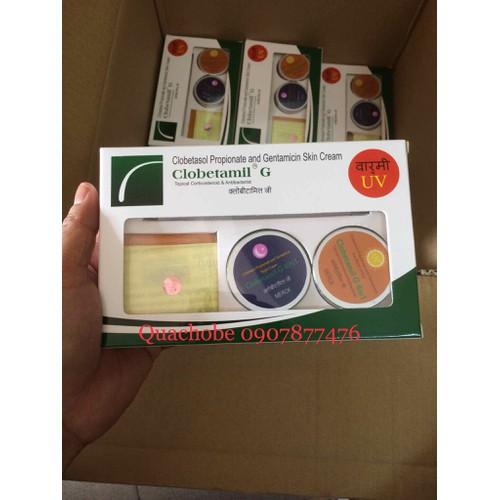Bộ hộp Cao Cấp trị nám tàn nhang của Pharma Merck Clobetamil G