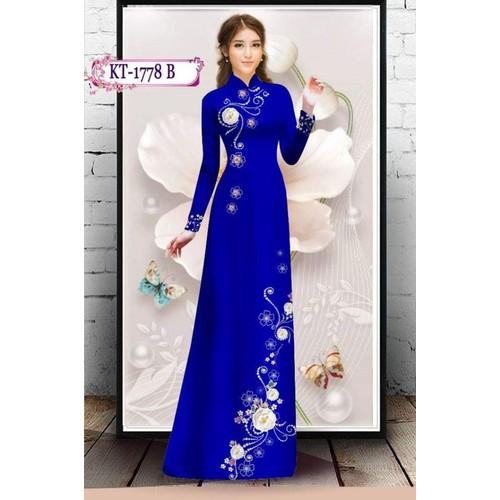Vải áo dài in hoa 3d - 7915224 , 17530569 , 15_17530569 , 340000 , Vai-ao-dai-in-hoa-3d-15_17530569 , sendo.vn , Vải áo dài in hoa 3d
