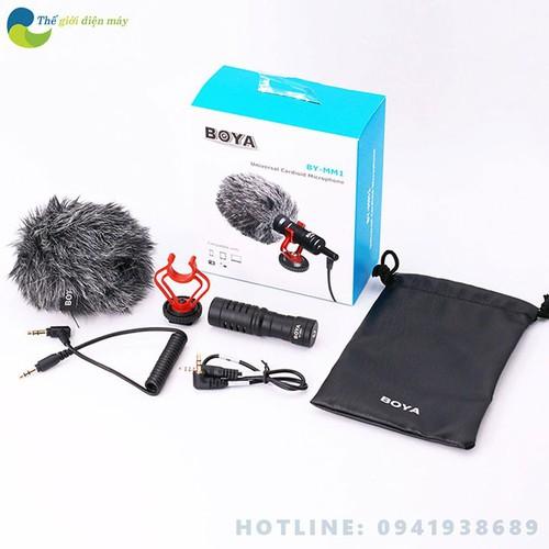 Micro thu âm chuyên nghiệp Boya-MM1 cao cấp đa năng cho máy ảnh điện thoại, máy ảnh dslr, camera hành động live stream - bảo hành 1 năm - shop Thế giới điện máy - 7917133 , 17533898 , 15_17533898 , 950000 , Micro-thu-am-chuyen-nghiep-Boya-MM1-cao-cap-da-nang-cho-may-anh-dien-thoai-may-anh-dslr-camera-hanh-dong-live-stream-bao-hanh-1-nam-shop-The-gioi-dien-may-15_17533898 , sendo.vn , Micro thu âm chuyên nghiệp